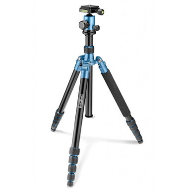 PRIMA Travel Kit Large Fotocamere digitali/film Nero, Blu treppiede