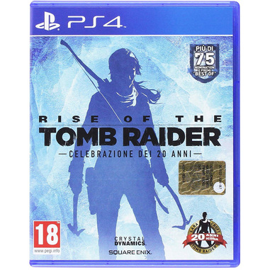 Koch Media Rise of the Tomb Raider, PlayStation 4 Basic Inglese