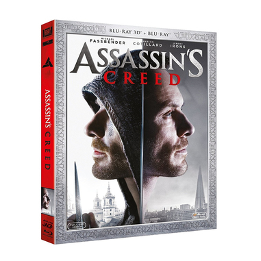 Assassin's Creed 3D Blu-ray