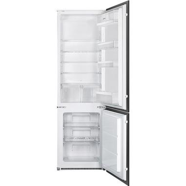 Smeg C3170P1 frigorifero con congelatore Da incasso 268 L G Bianco