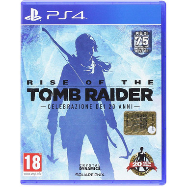 Rise of the Tomb Raider 20 Year Celebration Edition, Playstation 4
