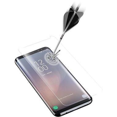 Cellularline Second Glass Curved Shape - Galaxy S8 Vetro temperato curvo, resistente e ultra sottile Trasparente
