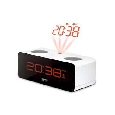 Oregon Scientific RRA320P Orologio Bianco radio