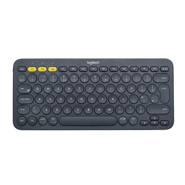 Logitech K380 Multi-Device tastiera Bluetooth QWERTY Italiano Grigio
