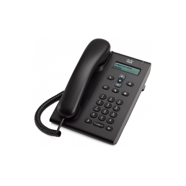 Cisco 3905 telefono IP Cioccolato Cornetta cablata 1 linee