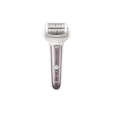 Panasonic ES-EL7A, 60 pinzette, Wet&Dry, Testina orientabile 90°, 3 accessori, Lilla