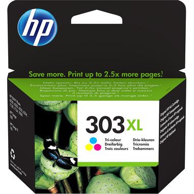 HP Cartuccia di inchiostro in tricromia originale ad alta capacità 303XL