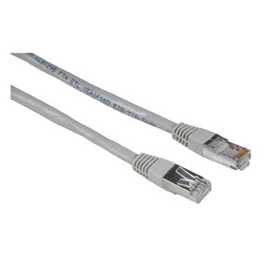 Hama CAT5e Patch Cable STP, 20 m 20m Cat5e Grigio cavo di rete