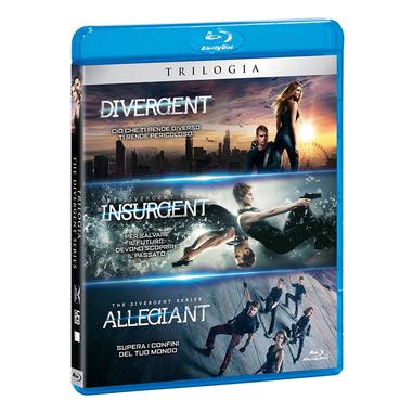 Trilogia Divergent (Blu-ray)
