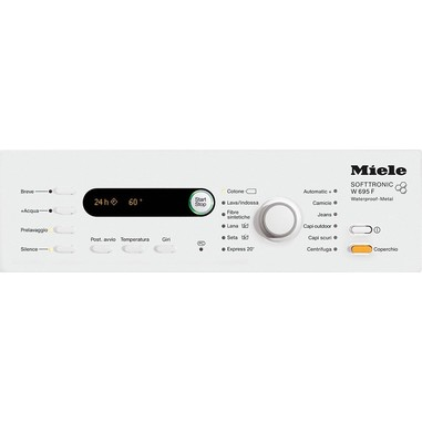 Miele W 695 F WPM Libera installazione Caricamento dall'alto 6kg 1400Giri/min A+++ Bianco lavatrice