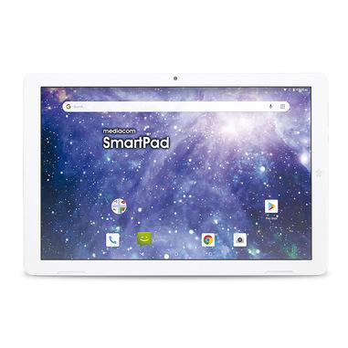 """Mediacom SmartPad M-SP1EY4G tablet 4G LTE-FDD 16 GB 25,6 cm (10.1"""") Spreadtrum 2 GB Wi-Fi 4 (802.11n) Android 9.0 Bianco"""