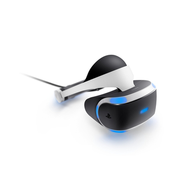 Sony PlayStation VR + Camera + VR Worlds (voucher) Occhiali immersivi FPV 610g Nero, Bianco