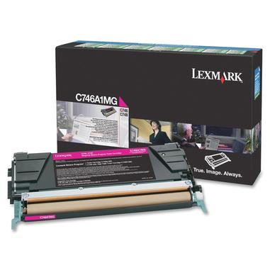 Lexmark C746A1MG cartuccia toner Original Magenta 1 pezzo(i)