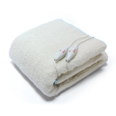 Ardes AR4F22 coperta/cuscino elettrico Sottocoperta elettrica 124 W Bianco Lana