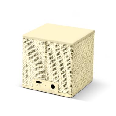 Fresh 'n Rebel Rockbox Cube Fabriq Edition - Buttercup