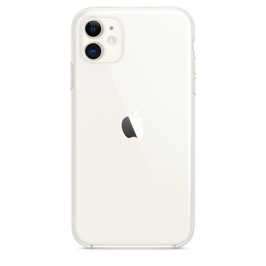"Apple MWVG2ZM/A custodia per iPhone 11 Clear Case15,5 cm (6.1"") Cover Trasparente"