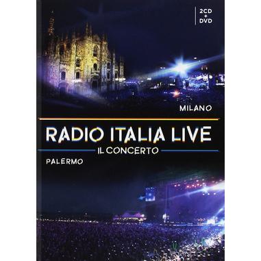 Radio Italia Live - Il Concerto, 2CD + DVD DVD/CD World music