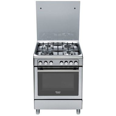 Hotpoint CX65S7D2 IT (X)/HA H cucina Piano cottura Argento Gas A