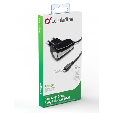 Cellular Line CHARGER Interno Nero