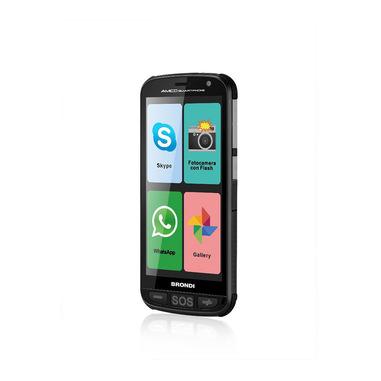 """Brondi Amico Smartphone 12,7 cm (5"""") Doppia SIM Android 5.1 3G Micro-USB 0,512 GB 4 GB 2000 mAh Nero"""