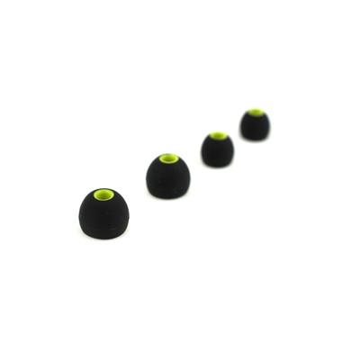 MySound Auricolare sport micr. In-ear, nero/giallo