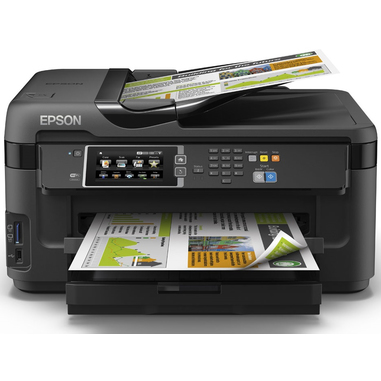Epson WorkForce WF-7610DWF Ad inchiostro A3 Wi-Fi Nero