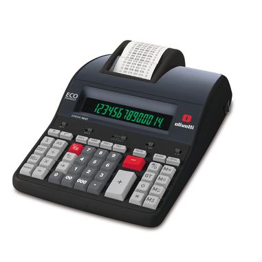Olivetti Logos 904T calcolatrice con stampa Nero
