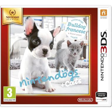 Nintendogs + Cats: Bulldog Francese