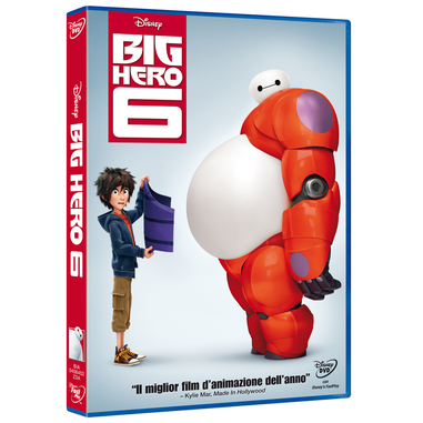 BIG HERO 6 - (DVD)