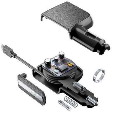 Cellularline CBRARMICROUSB2AK Auto Nero caricabatterie per cellulari e PDA