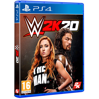 Take-Two Interactive WWE 2K20, PS4 Basic Inglese PlayStation 4