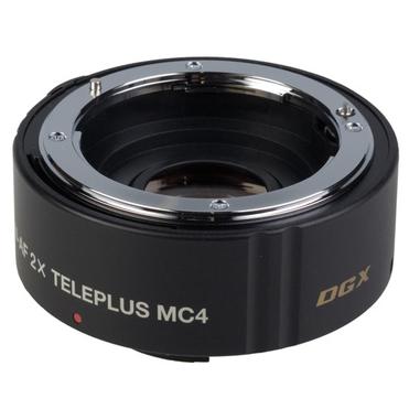 Kenko Teleplus MC4 AF 2.0X DGX SLR Teleobiettivo Nero