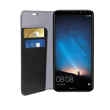 Phonix Custodia a Libro in Ecopelle per Huawei Mate 10 Lite - Nera