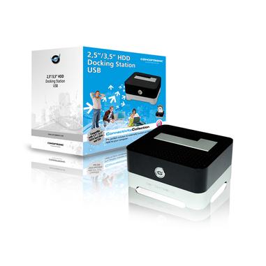 Conceptronic 2,5/3,5 inch Hard Disk Docking Station USB 2.0