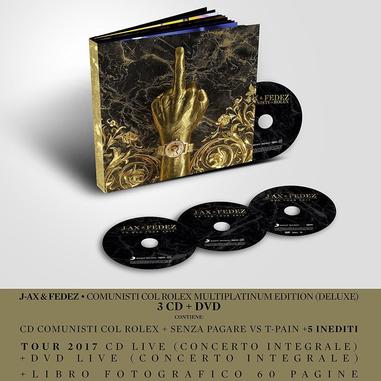 Comunisti col Rolex (Multiplatinum Deluxe Edition), 3CD + DVD DVD/CD Hip-Hop