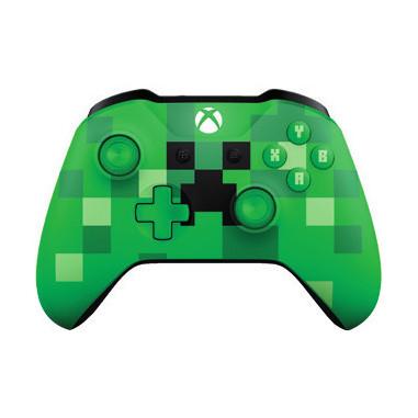 Microsoft Xbox One Wireless Controller Gamepad Xbox One Minecraft Creeper