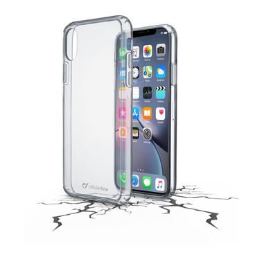 Cellularline Clear Duo - iPhone XR Accoppiata ad alta protezione Trasparente