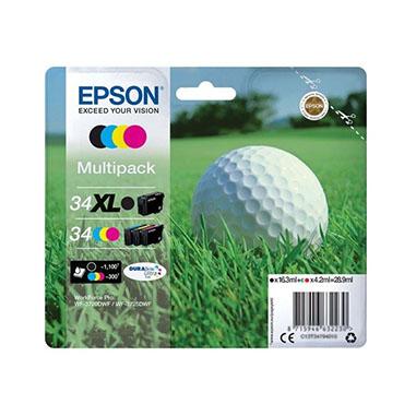 Epson Golf ball T3479 Originale Nero, Ciano, Magenta, Giallo Multipack