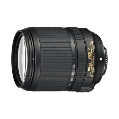 Nikon AF-S DX NIKKOR 18-140 f/3.5-5.6 G ED VR SLR Telephoto zoom lens Nero