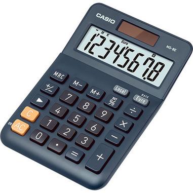 Casio MS-8E calcolatrice Desktop Calcolatrice con display Nero, Grigio, Arancione
