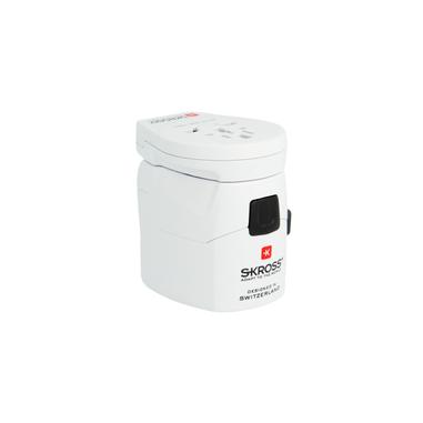 Skross 1.302530 adattatore e invertitore Interno Bianco