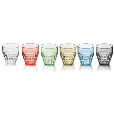 Fratelli Guzzini Set 6 Bicchieri Bassi Tiffany