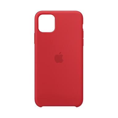 Apple Custodia in silicone per iPhone 11 Pro Max - (PRODUCT)RED