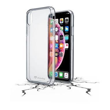 Cellularline Clear Duo - iPhone XS Max Accoppiata ad alta protezione Trasparente