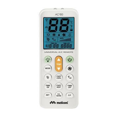 Meliconi AC 100 telecomando RF Wireless Aria condizionata Pulsanti