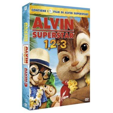Alvin superstar 1, 2 e 3 (DVD)