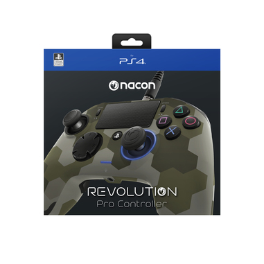 NACON Revolution Camogreen Gamepad PlayStation 4 Mimetico periferica di gioco