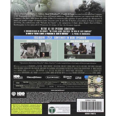 Band of brothers Blu-ray