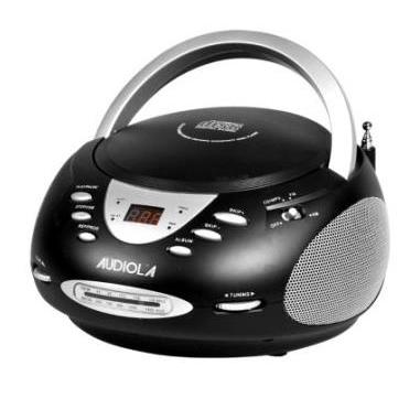 Audiola AHB-0227 Microsistema audio per la casa Nero