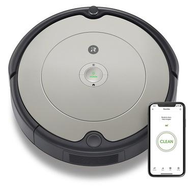 iRobot Roomba 698 aspirapolvere robot Sacchetto per la polvere Nero, Grigio 0,6 L